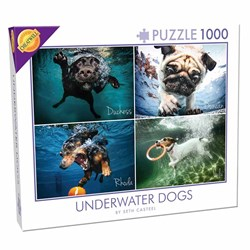 Underwater Dogs Puzzle | 1000 Pieces