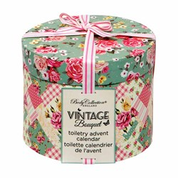 Vintage Bunting Advent Calendar | 24 Little Bags of Beauty!