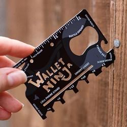 Wallet Ninja Multi-Tool | 18 Tools in 1!