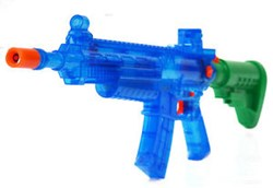 Powerful Electric Water Gun Shoots 40ft | with noises & light show