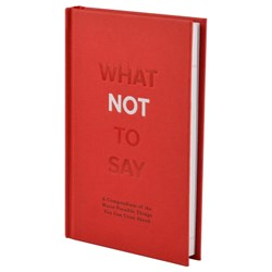 What Not to Say Book | Awkward Yet Hilarious