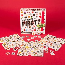 Who Finds It First | BRAND NEW Picture Action Game