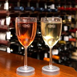 Wine Glasses That Won't Fall Over | Set of Two