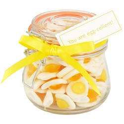 You Are Eggcellent Sweets | Jar of Gummy Eggs
