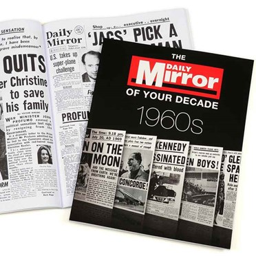 1960s Daily Mirror of your Decade Book