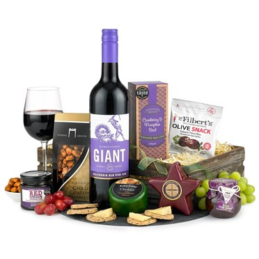 Luxury Wine and Cheese Hamper