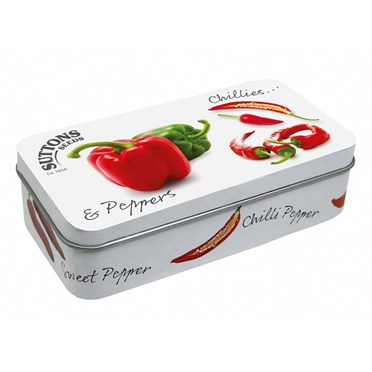 Chillies and Pepper Tin