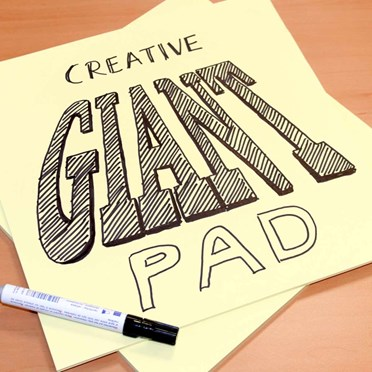 25 Big Sticky Note Pads
