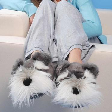 Schnauzer Dog Slippers