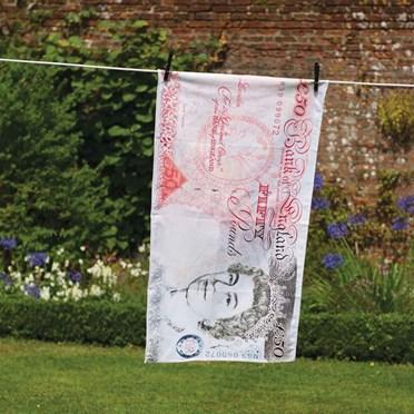 £50 Note Tea Towel