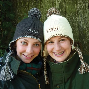 Personalised Tassel Bobble Hat