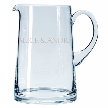Personalised Glass Jug