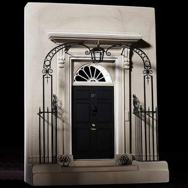 10 Downing Street Doorway Model - Single Bookend