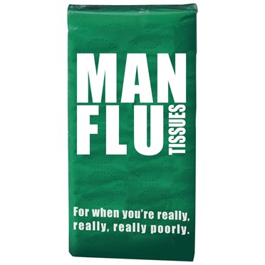 Man Flu Pack of Tissues