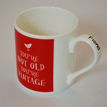 Personalised You're Not Old You're Vintage Mug
