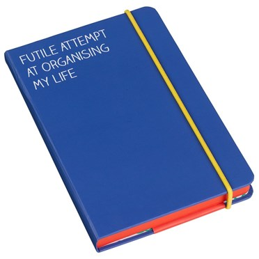 'Futile Attempt At Organising My Life' - A6 Notebook