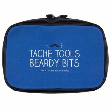 Mens Wash Bag - Tache Tools Beardy Bits