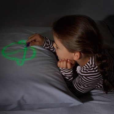 Glow In The Dark Doodle Pillowcase