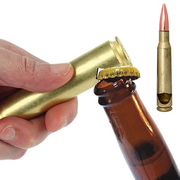 50 Calibre Bullet Bottle Opener