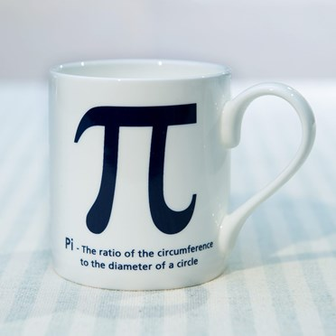 Pi Bone China Mug