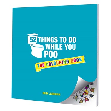 52 Things To Do While You Poo - The Colouring Book