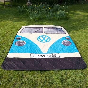 VW Camper Van Picnic Rug