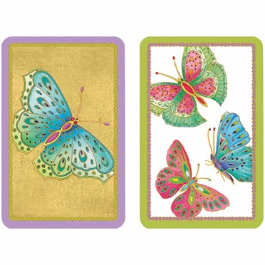 Jewelled Butterflies Playing Cards