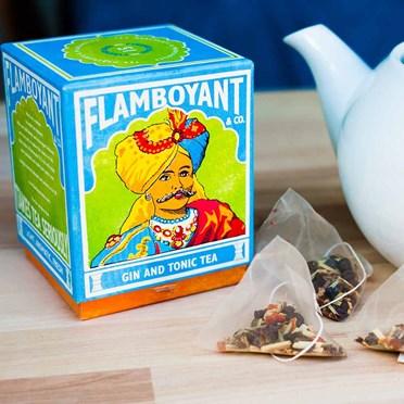 Gin & Tonic Flamboyant Tea