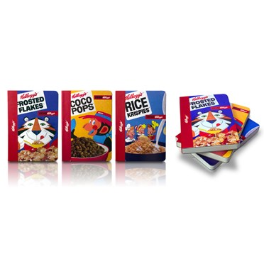 Kelloggs Retro A5 Notebooks