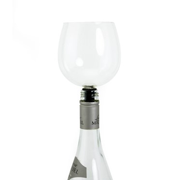 Wine-O-Matic 'Straight from the Bottle' Wine Glass