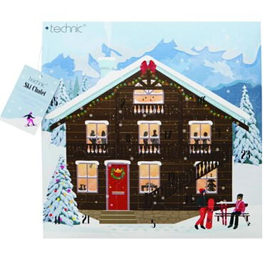 Ski Chalet Cosmetic Advent Calendar