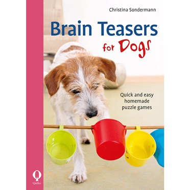An image of Brain Teasers for Dogs Book
