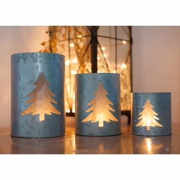 Fir Tree Tea Light Holders