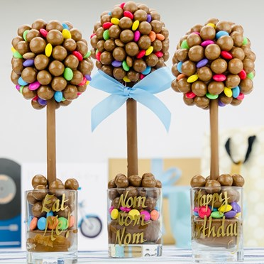 Personalised Maltesers & Smarties Sweet Tree
