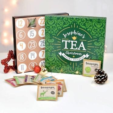 Personalised Flavoured Teapigs Advent Calendar