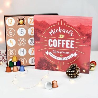 Personalised Nespresso Coffee Advent Calendar