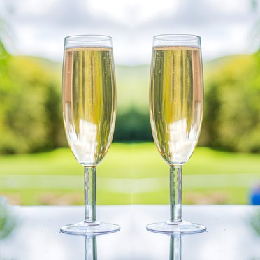 Set of 2 Giant Prosecco Glasses