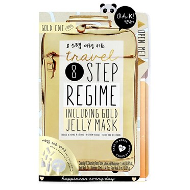Eight Step Travel Beauty Regime