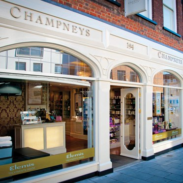Champneys City Spa Facial & Back Massage for One