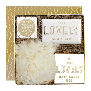 Feel Lovely Bath Gift Box