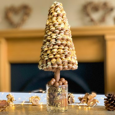 Personalised Maltesers Christmas Tree