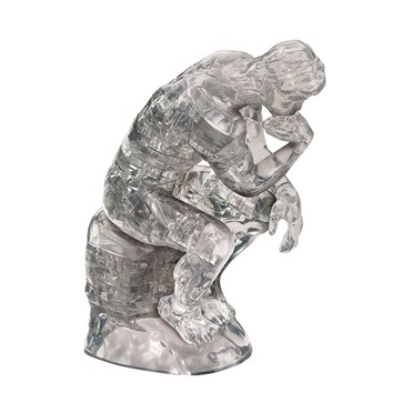 The Thinker Crystal 3D Jigsaw Puzzle