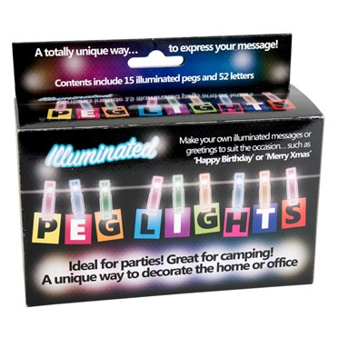 Peg Letter Lights
