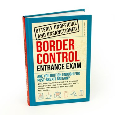 Post Brexit Border Control Entrance Exam Book