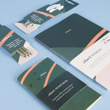 Green 'ideas' Ethical Stationery Set