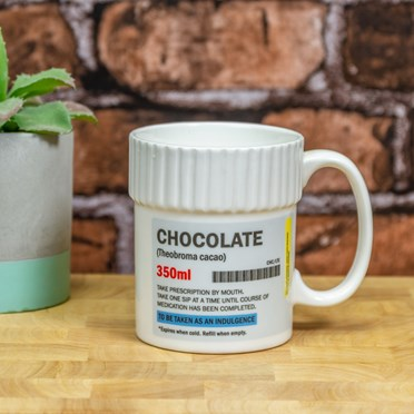 Hot Chocolate Pill Pot Mug