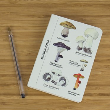 Mushrooms A6 Notebook