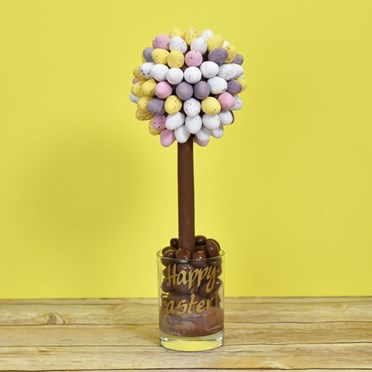 Personalised Cadbury Mini Egg Sweet Tree