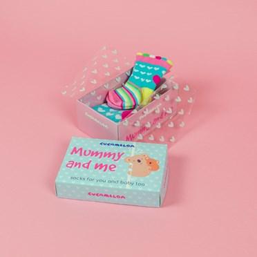 Mummy and Me Socks Gift Set