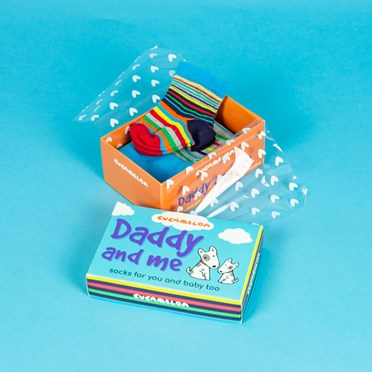 Daddy and Me Socks Gift Set